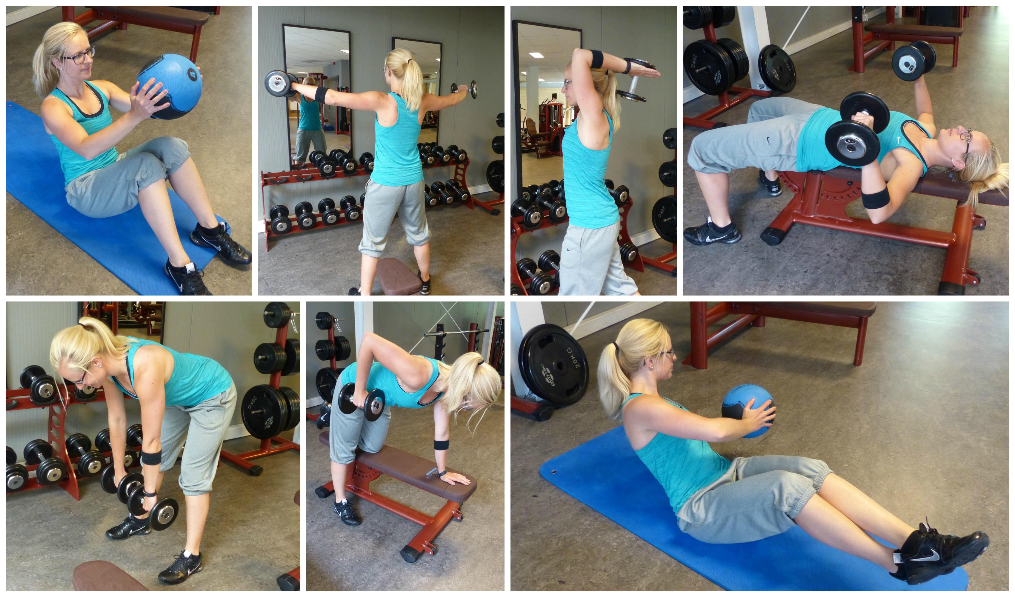 losse fitness oefeningen