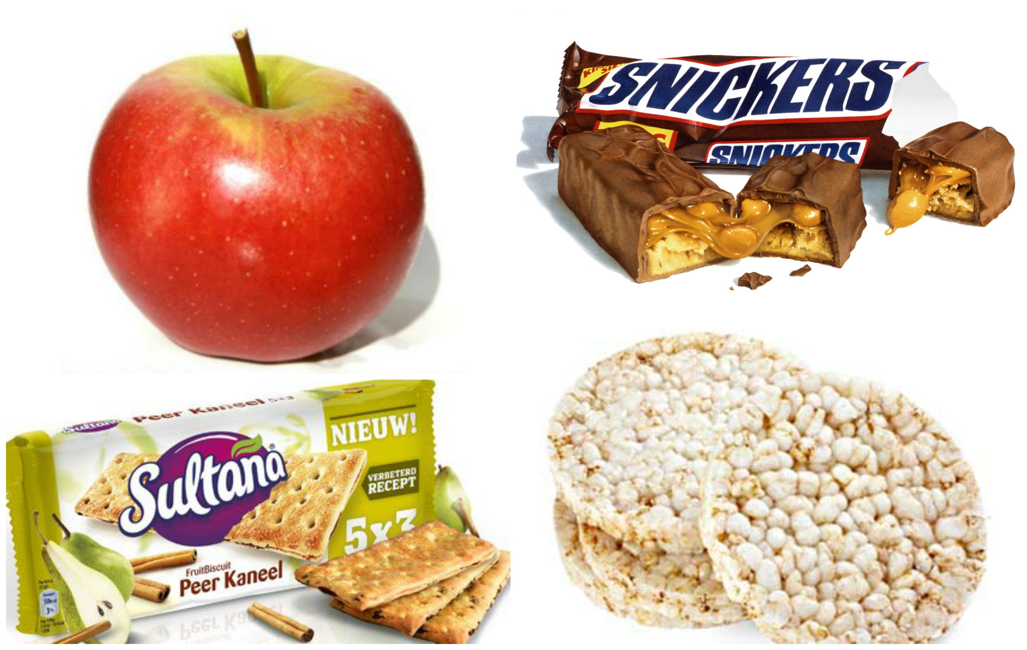 Ik vergelijk de meest gebruikte meeneem snacks optima vita - Snack eten ...