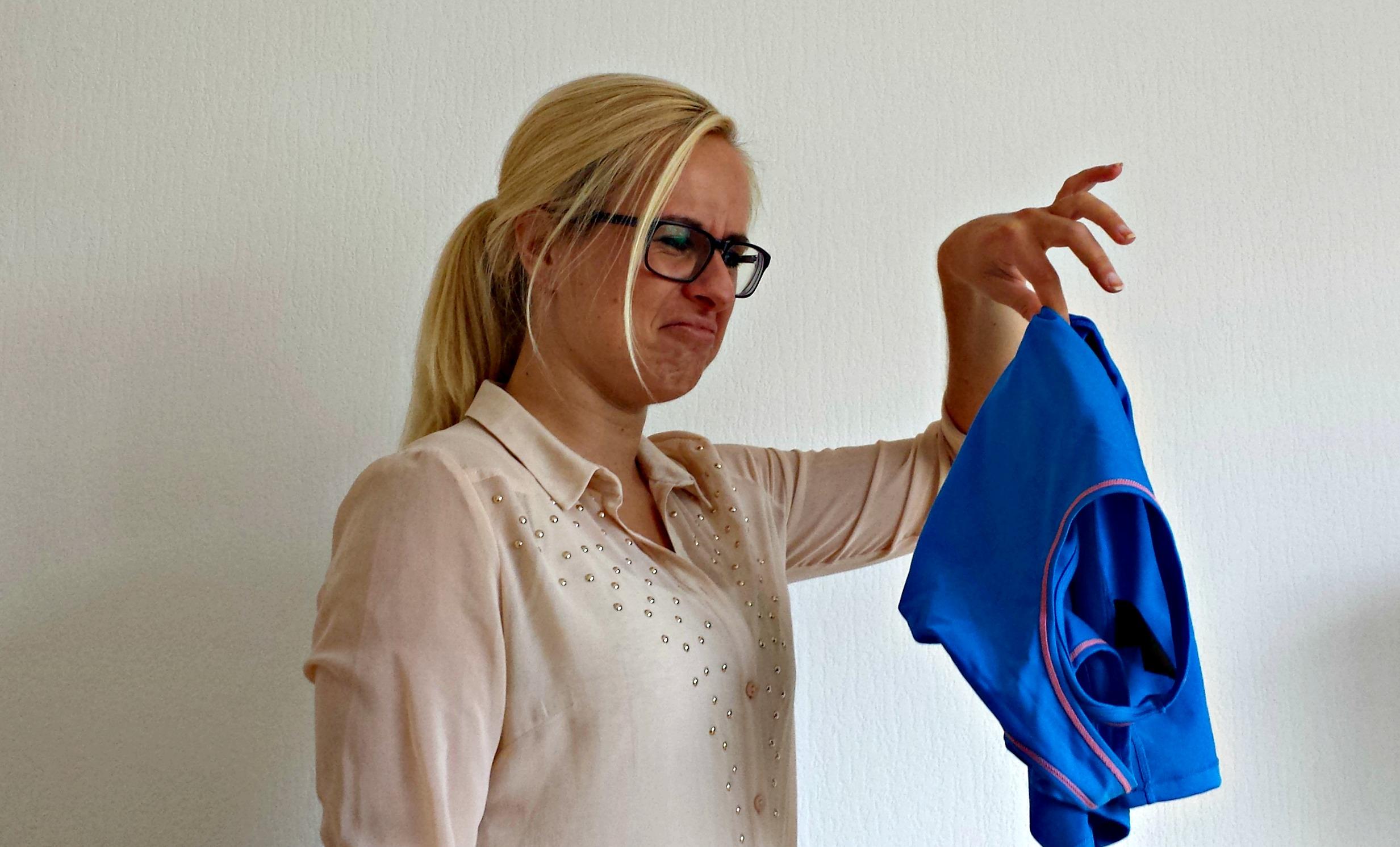 Zweetlucht uit kleding vriezer