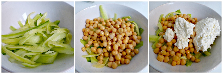 Heerlijke salade met kikkererwten en h ttenk se optima vita - De komkommers ...
