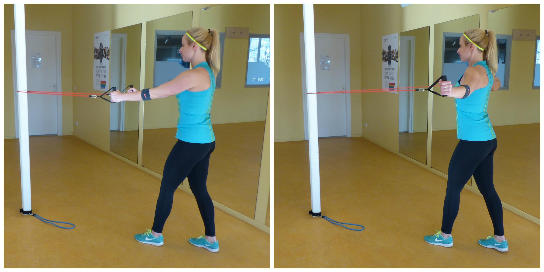 elastiek workout