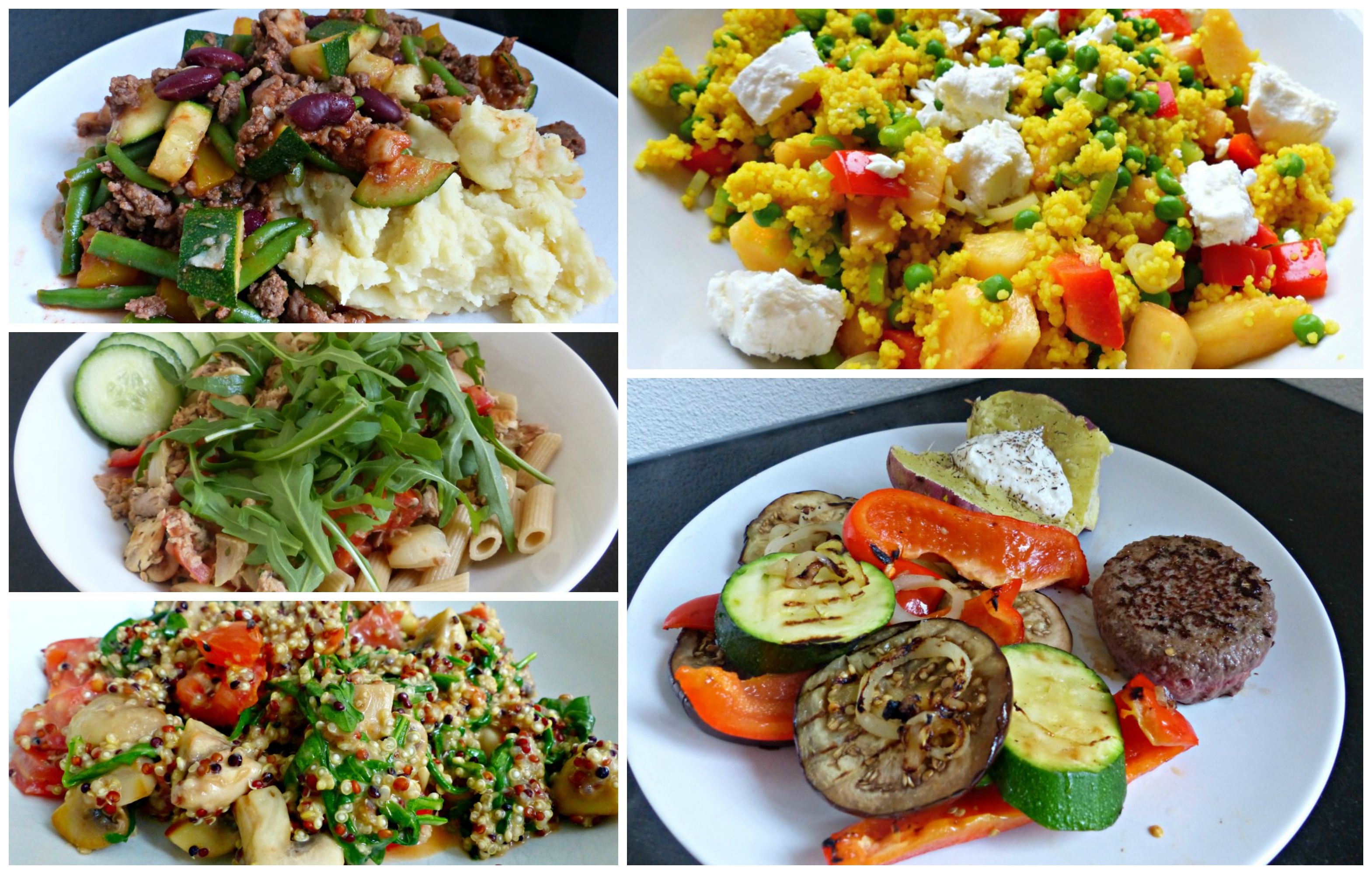 gezonde snelle maaltijd 1 persoon