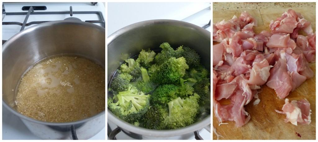 warme maaltijd met weinig calorieen