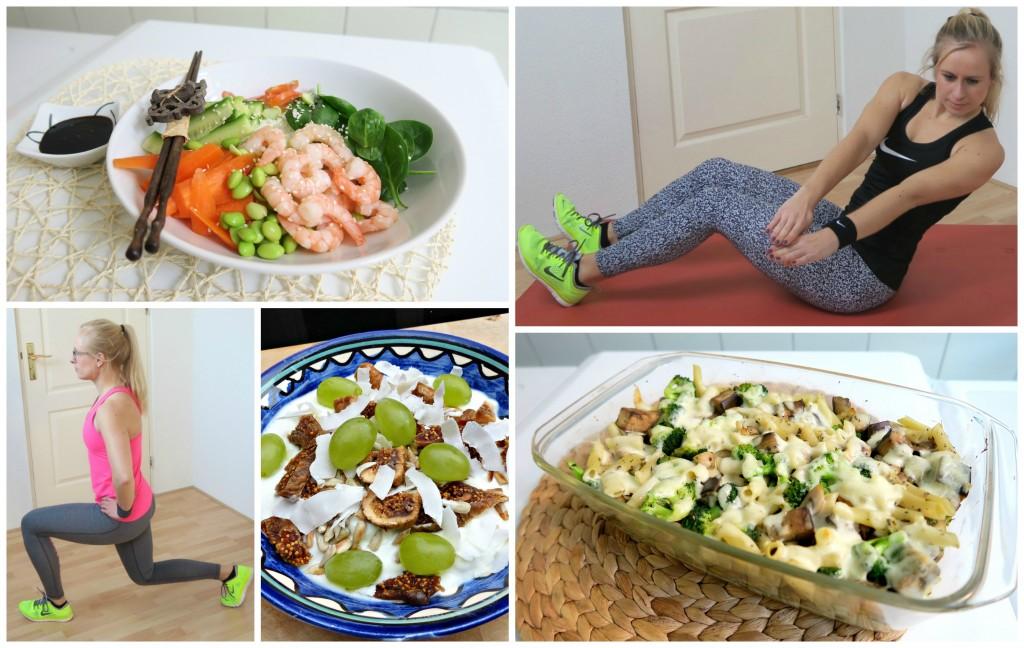 gezond eten sporten en afvallen