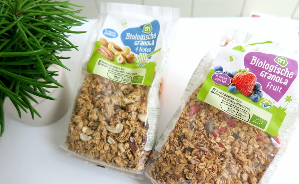 Biologische granola Albert Heijn