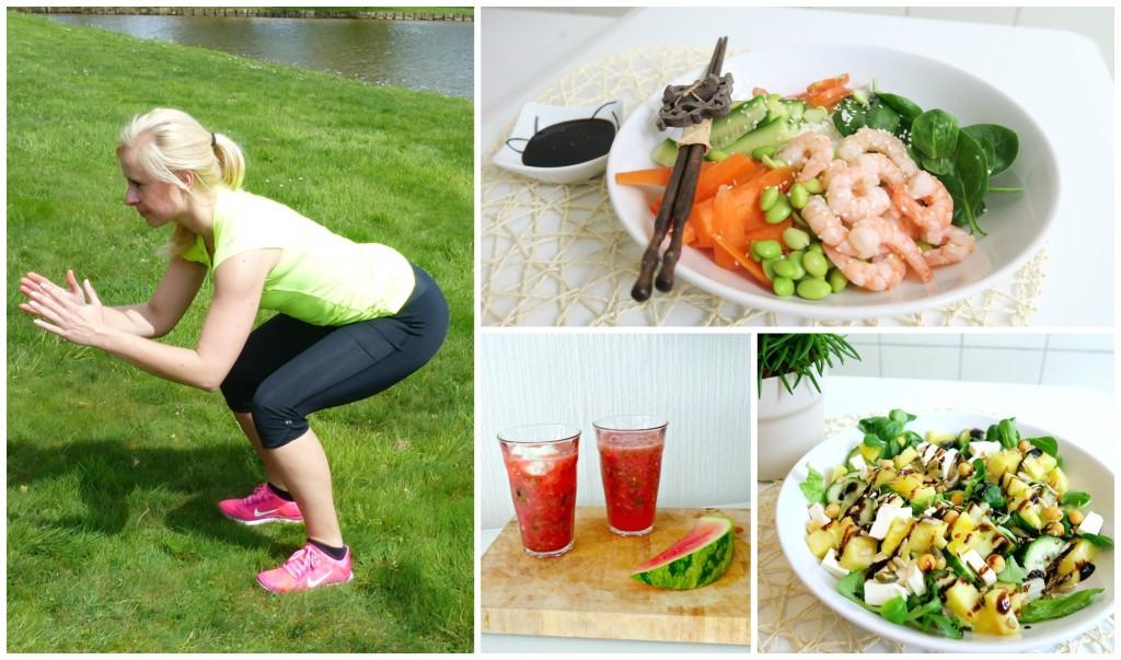 Gezond eten warm weer