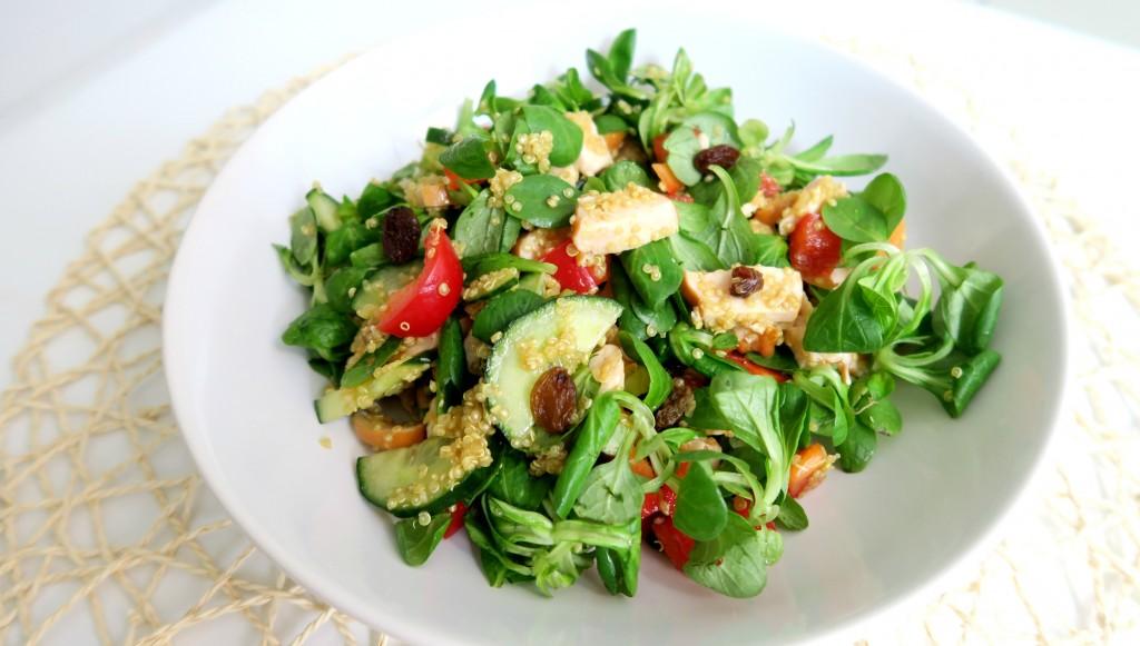 Recept Quinoa Salade met Kip