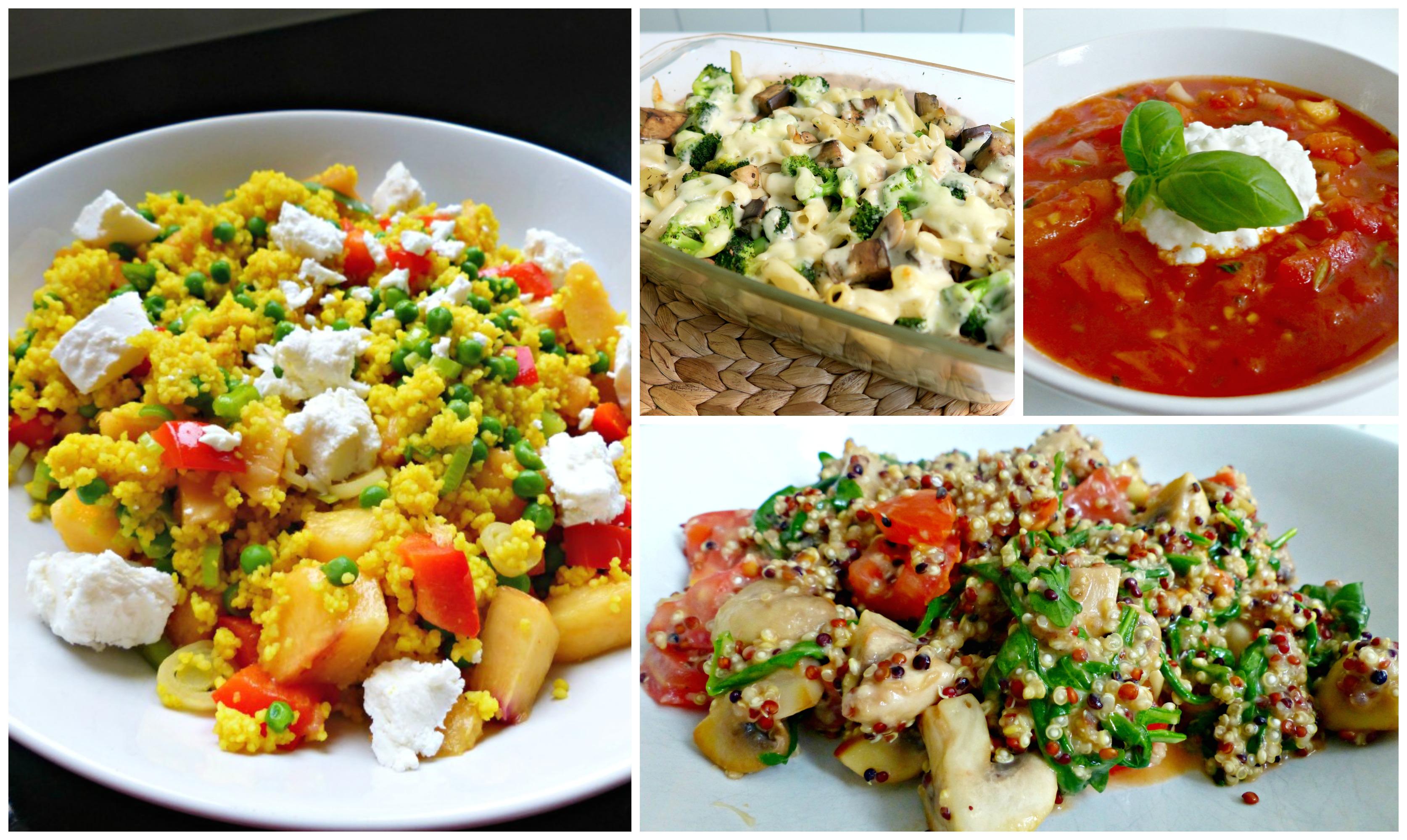 Gezonde Vegetarische Recepten - Mijn Favorieten - Optima Vita