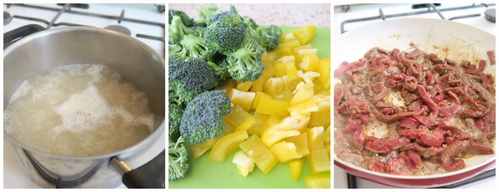 gezonde en snelle maaltijd