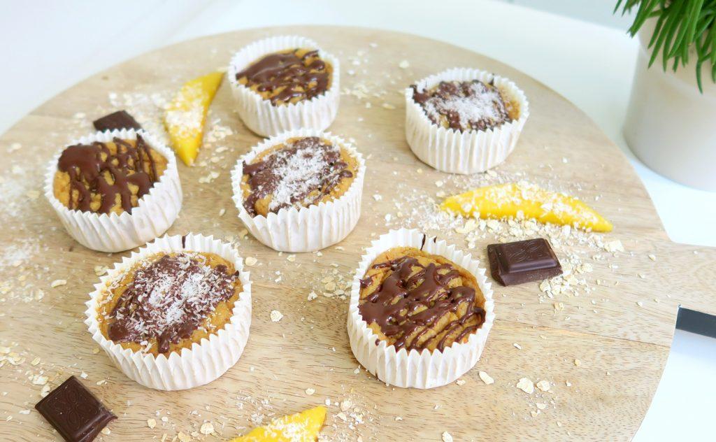 recept: gezonde havermout muffins met mango - optima vita
